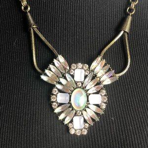 BaubleBar Aurora Borealis rhinestone necklace